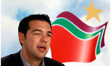 Alexis Tsipras et Syriza bien partis pour remporter les prochaines législatives en Grèce.
